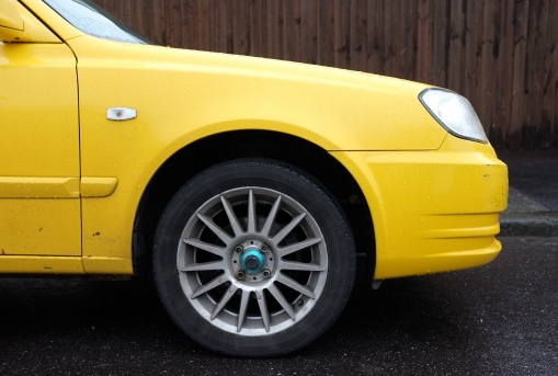 yellow wheel